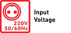 220V Input Voltage