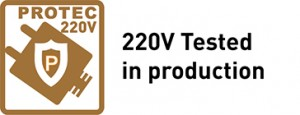 220V Tested in production
