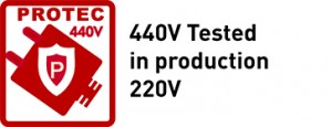 440V Tested in production 220V
