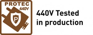 440V Tested in production