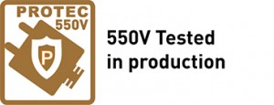 550V Tested in production