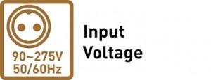 90~275V Input Voltage