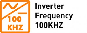 Inverter Frequency 100KHZ