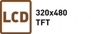TFT LCD 320X480