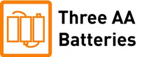 Three AA Batteries