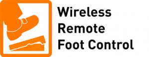 Wireless Remote Foot Control